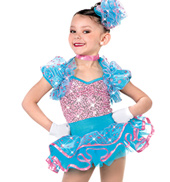 Girls Party Time Two-Piece Costume