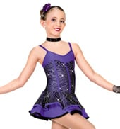 Girls Purple Haze Costume Dress