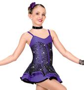 Girls Purple Haze Costume Dress
