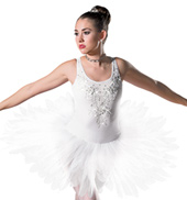 Adult White Rain Costume Dress