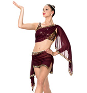 Girls Bollywood Two-Piece Costume