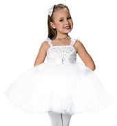 Girls Cream Puff Costume Dress