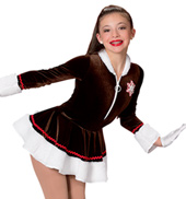 Girls Hot Cocoa Costume Dress