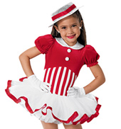 Girls Strawberry Shortcake Two-Piece Costume