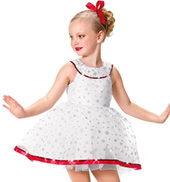 Girls The Best Part Costume Dress in White