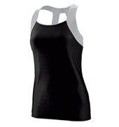 Ladies Plus Size Open Back Tank Top