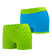Ladies Plus Size Reversible Shorts