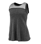 Ladies Plus Size Overlapping Tank Top