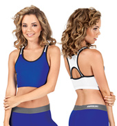 Ladies Racerback Sports Bra