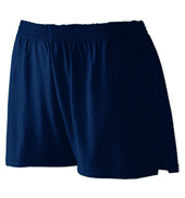 Ladies Plus Size Jersey Shorts