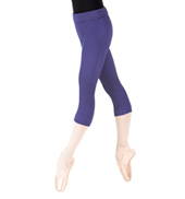 Adult Bamboo Warmup Capri Leggings