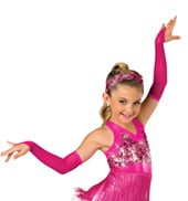 Adult/Child Hopscotch Costume Gauntlets with Fingerloops