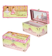 Ballet Shoes Musical Jewelry Box