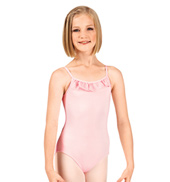Child Ruffle Camisole Leotard