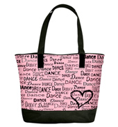 Dance is in My Heart Dance Bag