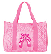 Quilted En Pointe Dance Bag in Pink