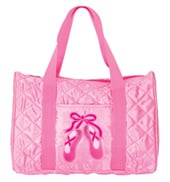 Quilted on Pointe Dance Bag in Pink