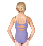 Girls Vehement Bow Back Camisole Leotard