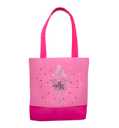 Ballet Girl Rhinestone Dance Bag