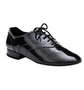 Mens Patent Standard Oxford Ballroom Shoe