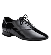 Mens Patent &amp;quot;Tony Smooth&amp;quot; Standard/Smooth Ballroom Shoe