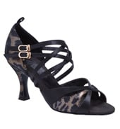 "Ladies ""Leah"" 2.5"" Latin/Rhythm Ballroom Shoe"