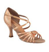 "Ladies ""Stella"" 2.5"" Latin/Rhythm Ballroom Shoe"