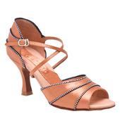 "Ladies ""Crystal Evelyn"" 2.5"" Latin/Rhythm Ballroom Shoe"