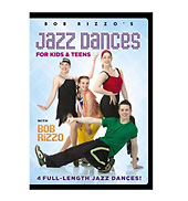 Bob Rizzos Jazz Dances for Kids & Teens DVD