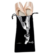 En Pointe Cinch Top Shoe Bag
