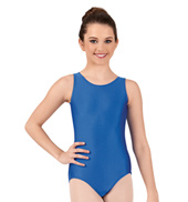 Girls Nylon Tank Leotard