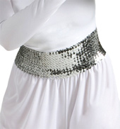 Worship Wide Sequin Cummerbund