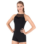 Adult Camisole Velvet Unitard