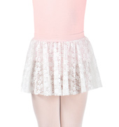 Girls Pull-On Lace Skirt