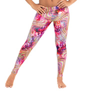 Adult Rainbow Swirl Leggings