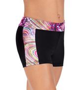 Child Rainbow Swirl Shorts