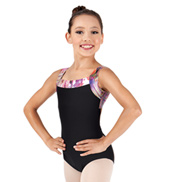Child Rainbow Swirl Tank Leotard