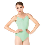 Adult Pinch Front Camisole Leotard