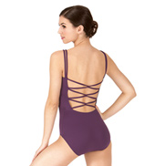 Adult Spaghetti Strap Back Camisole Leotard