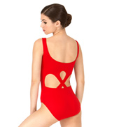 Adult Open Back Tank Leotard
