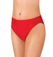 Adult Nylon High Leg Dance Briefs