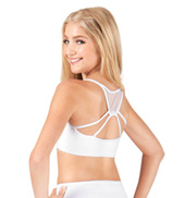 Child Mesh Camisole Crop Top