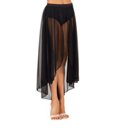 Child Long Mesh Dance Skirt