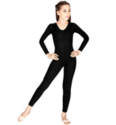 Child Long Sleeve Nylon Unitard