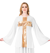 Womens Worship Cross Pullover