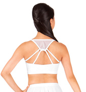Adult Mesh Camisole Crop Dance Top