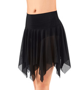 Adult Mesh Handkerchief Dance Skirt