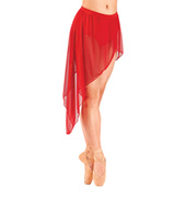 Adult Asymmetrical Drape Skirt
