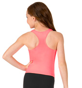 Girls Basic Racerback Tank Top