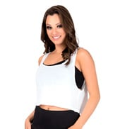 Adult Oversized Crop Tank Top